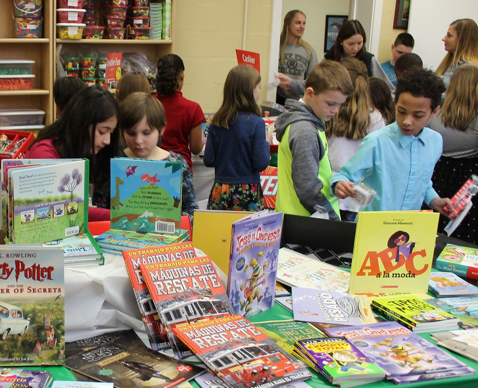 . Tawana Roberts - The News-Herald <br> Our Shepard Lutheran School students purchased items from the scholastic book fair at Lake Erie College in Painesville on March 28. Lake Erie College education students in EDE 308 Community Services are hosting the book fair from March 28 to April 12 to raise money to give local children new books.