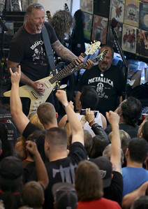 Metallica Record Store Day Rasputin Music Berkeley