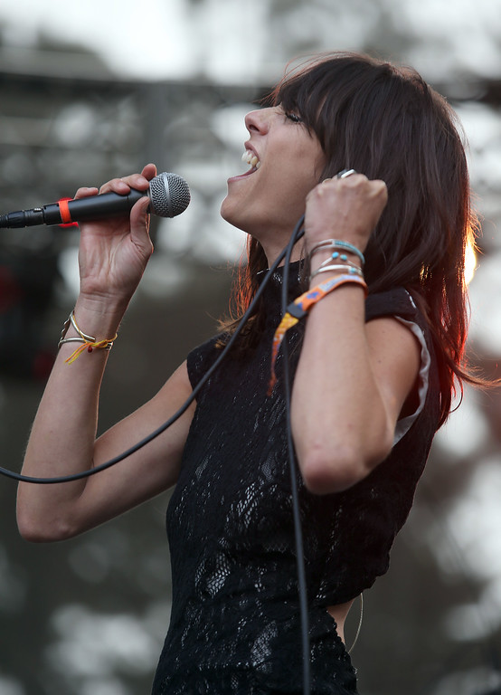 . Nicki Bluhm & The Gramblers perform on the Sutro Stage during day one of the Outside Lands music festival at Golden Gate Park in San Francisco, Calif., on Friday, Aug. 8, 2014. (Jane Tyska/Bay Area News Group)