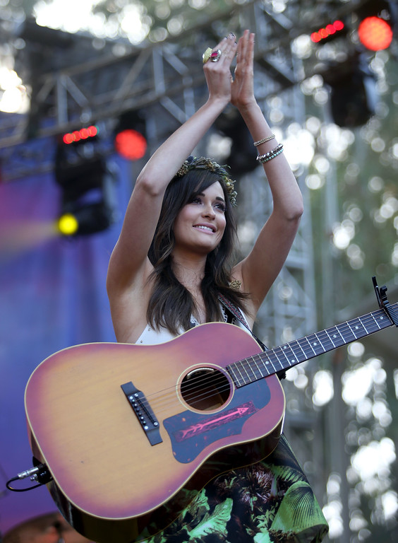 . Kacey Musgraves performs on the Sutro stage during day one of the Outside Lands music festival at Golden Gate Park in San Francisco, Calif., on Friday, Aug. 8, 2014. (Jane Tyska/Bay Area News Group)