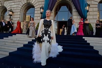 Sonya Molodetskaya, of San Francisco, arrives to the San Francisco Opera's 93rd Season, Opera Ball 2015: Moonlight & Music event at the War Memorial Opera House in San Francisco, Calif., on Friday, Sept. 11, 2015. (Jose Carlos Fajardo/Bay Area News Group)