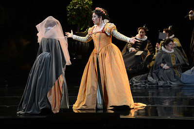"Nadia Krasteva, as Princess Eboli, performs during a dress rehearsal of the San Francisco Opera's upcoming production of Verdi's ""Don Carlo"" at the War Memorial Opera House in San Francisco, Calif., on Thursday, June 9, 2016. (Dan Honda/Bay Area News Group)"