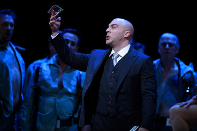 Meet the bold and swaggering Escamillo, sung by Zachary Nelson, who will soon become Don Jose's rival for Carmen's affections. (Jose Carlos Fajardo/Bay Area News Group)