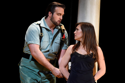 Don Jose loosens the ties that bind Carmen, setting up her escape route and sealing his fate. (Jose Carlos Fajardo/Bay Area News Group)