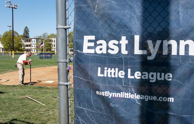 4 25 19 Lynn East Lynn Little League field repair