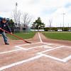 4 22 21 Lynnfield DPW ballfield maintenance 6