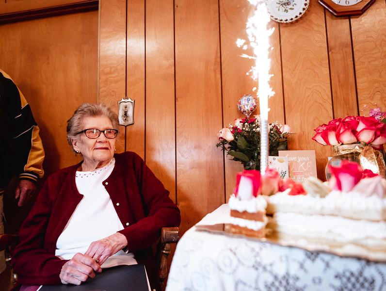 4 7 21 Lynn Mary Landry turns 100 2