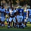 The UCLA football team holds practice on Wednesday, August 17, 2016 at California State University San Bernardino in San Bernardino, Ca. (Micah Escamilla/The Sun, SCNG)