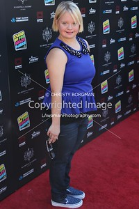 Lauren Potter attending the 10th annual Stand Up For Skateparks benefit