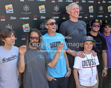Rodney Mullen, Tony Alva, Tony Hawk, Bill Walton, Tom Schaar, Elliot Sloan attending the 10th annual Stand Up For Skateparks benefit