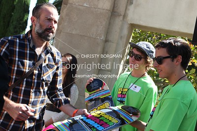 Jason Lee attending the 10th annual Stand Up For Skateparks benefit