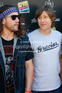 Coco Zurita and Rodney Mullen attending the 10th annual Stand Up For Skateparks benefit
