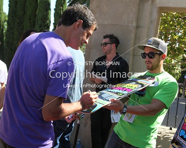 Mat Hoffman attending the 10th annual Stand Up For Skateparks benefit