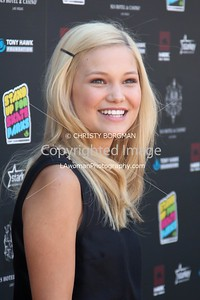 Olivia Holt attending the 10th annual Stand Up For Skateparks benefit