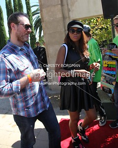 Eve and Maximillion Cooper attending the 10th annual Stand Up For Skateparks benefit