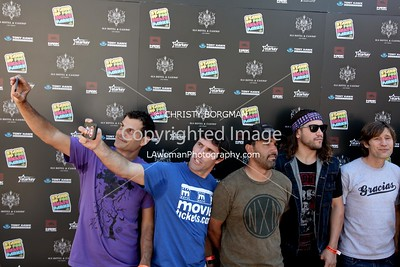 Mat Hoffman, Andy MacDonald, Rooftop, Coco Zurita attending the 10th annual Stand Up For Skateparks benefit