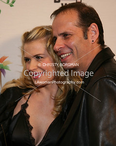 Kristy Swanson and husband Lloyd Eisler arrive at the 7th Annual World Poker Invitational on February 28, 2009 at the Commerce Casino, in Commerce, CA.