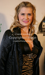 Kristy Swanson arrives at the 7th Annual World Poker Invitational on February 28, 2009 at the Commerce Casino, in Commerce, CA.