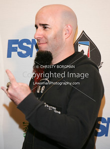 Scott Ian arrives at the 7th Annual World Poker Invitational on February 28, 2009 at the Commerce Casino, in Commerce, CA.