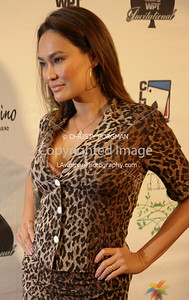 Tia Carrere arrives at the 7th Annual World Poker Invitational on February 28, 2009 at the Commerce Casino, in Commerce, CA.