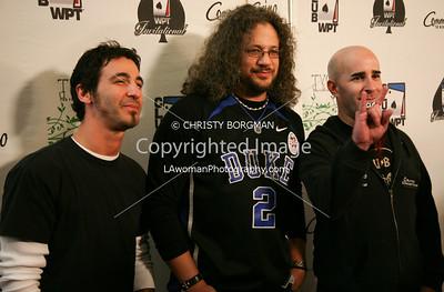 Sully Erna, Joseph D Reitman and Scott Ian