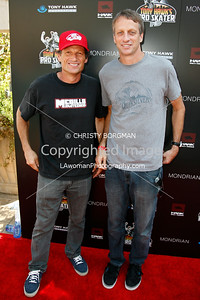Mike McGill  and Tony Hawk