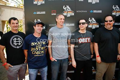 Mat Hofman, Andy Macdonald, Tony Hawk, DJ Z-Trip, Jon Favreau