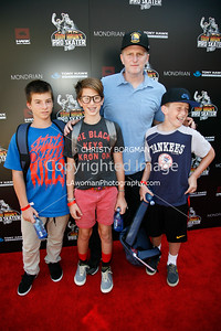 Michael Rappaport and family