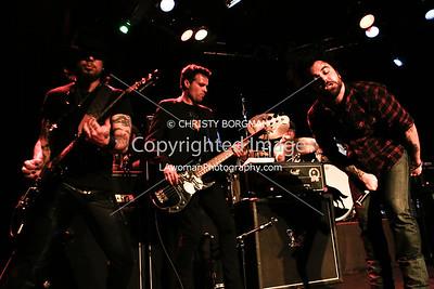 Dave Navarro, Grant Fitzpatrick and Franky Perez