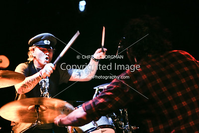 Matt Sorum and Franky Perez