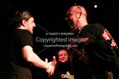 Dave Lombardo and Jason Bonham