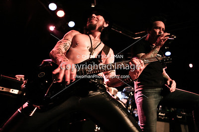 Dave Navarro and Billy Morrison