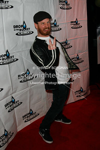 Corey Taylor arriving at the Drop In The Bucket benefit