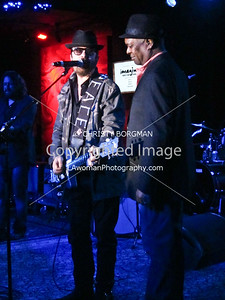 Dave Stewart and Booker T