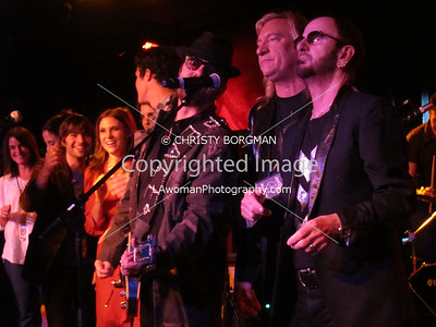 Ringo Starr, Joe Walsh and Dave Stewart