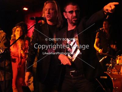 Ringo Starr and Joe Walsh