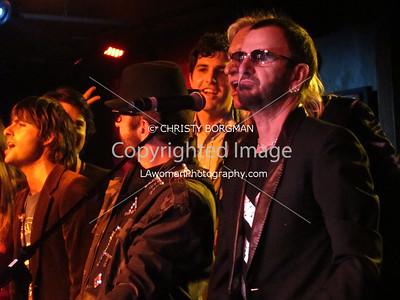 Ringo Starr and Dave Stewart