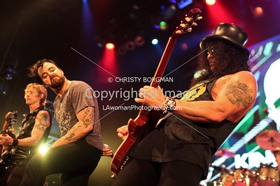 Franky Perez and Slash