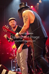 Corey Taylor and Slash