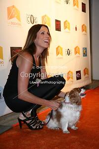 Nancy LaScala arrives at A Night Of Emotion on September 23, 2009 at LA Dogworks.
