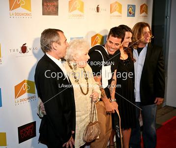 Andrew Rosenthal, Estelle Harris, Steve O, Jocelyn White and Chance White