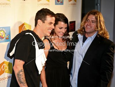 Steve O, Jocelyn White and Chance White