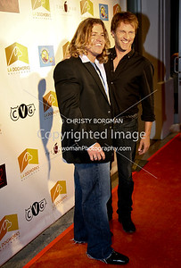 Chance White and Stephen Moyer