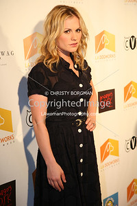 Anna Paquin arrives at A Night Of Emotion on September 23, 2009 at LA Dogworks.