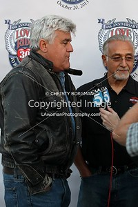 Jay Leno and Oliver Shokouh