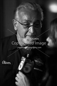 Love Ride's founder and owner of Harley Davidson of Glendale, Oliver Shokouh