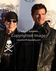 Willie G. Davidson and Lorenzo Lamas