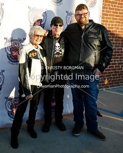 Nancy Davidson,Willie G. Davidson and Christopher Douglas Reed