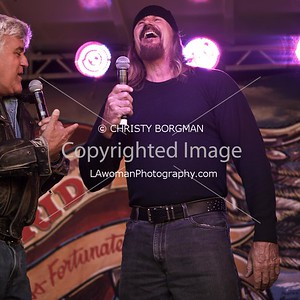 Jay Leno and Rusty Coones