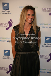Jodie Nelson arrives at the Surfrider Foundation's 25th Anniversary Gala on Ocotber 9, 2009 at the California Science Center's Wallis Annenberg Building.